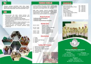 brosur SMP IT Usamah 2