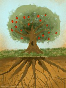pohon-dan-akar