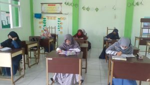 Kegiatan Ekskul Writing Class