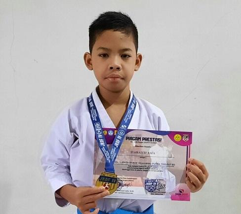 Rafa, Atlit Karate Sekaligus Juara Matematika dari SDIT Usamah